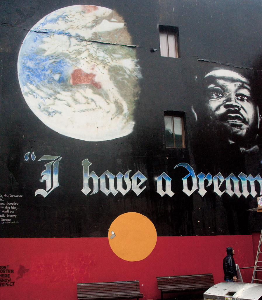 Wall Art 3d I Have A Dream | Famous Mural In Newtown, Sydney | Rob