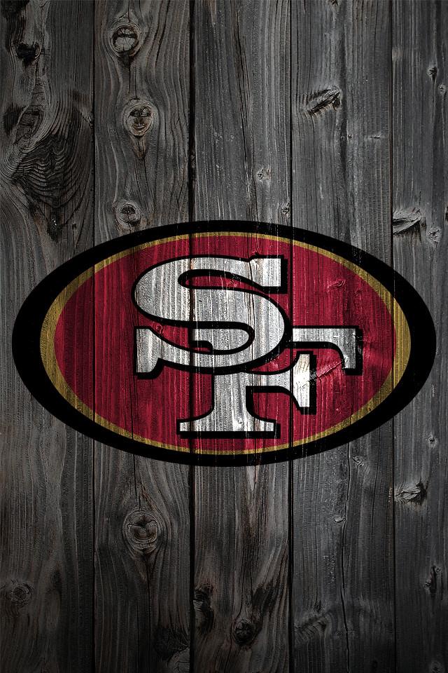 49ers 3d Wallpaper San Francisco 49ers Wood Iphone 4 Background San