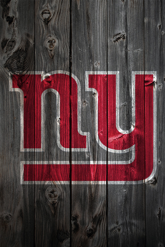 3d Wallpaper Ny Giants New York Giants Wood Iphone 4 Background New York Giants
