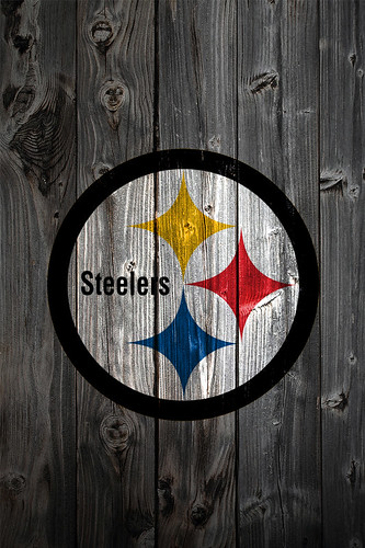 Steelers 3d Wallpaper Pittsburgh Steelers Wood Iphone 4 Background Pittsburgh