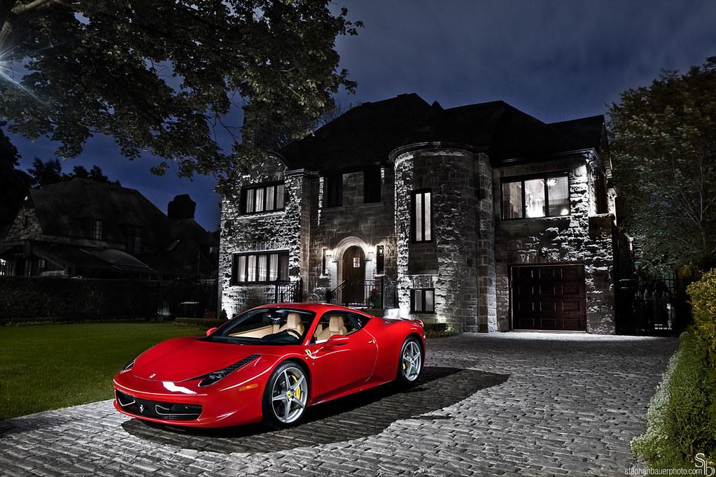 Car Pictures Wallpaper Hd Wealth Ferrari 458 Italia Photographed July 2010