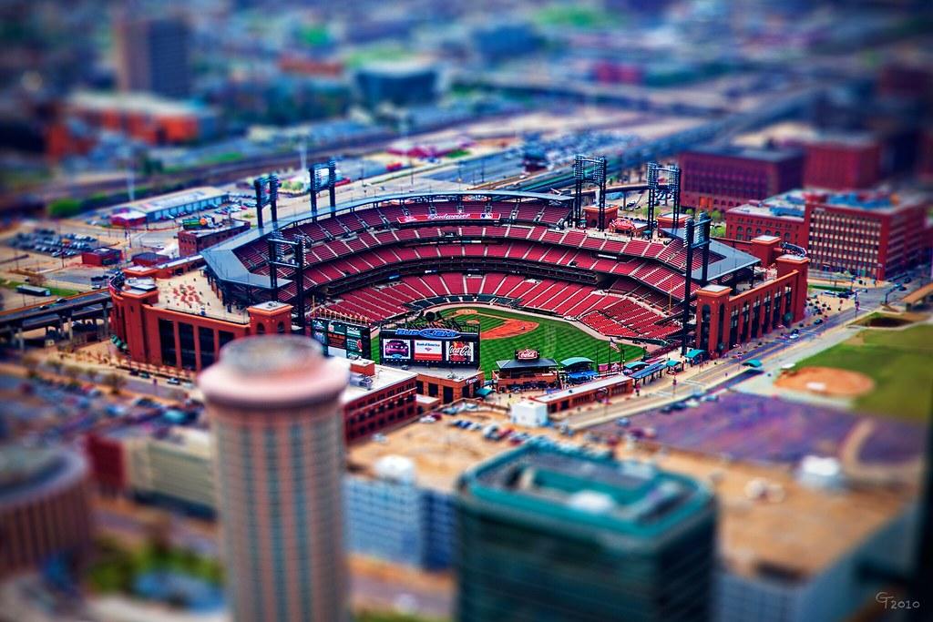 As 3d Wallpaper Busch Stadium Miniature Busch Stadium Home Of The