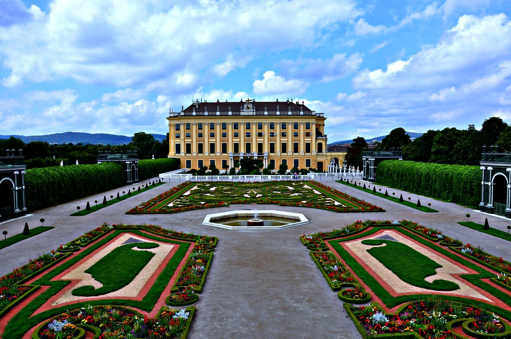 3d Wallpapers For Spring Schonbrunn Palace Vienna View From Privy Gardens Flickr