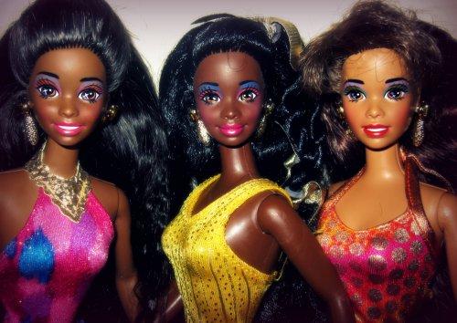 Barbie Doll 3d Wallpaper Shani Nichelle And Asha Alberto Rodr 237 Guez Flickr