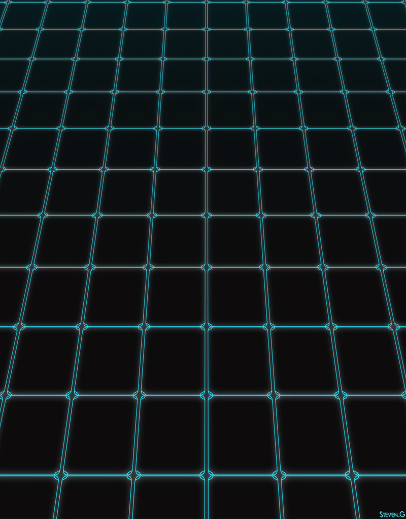 Neon Wallpaper 3d Game Grid The Game Grid From Tron Legacy This Is