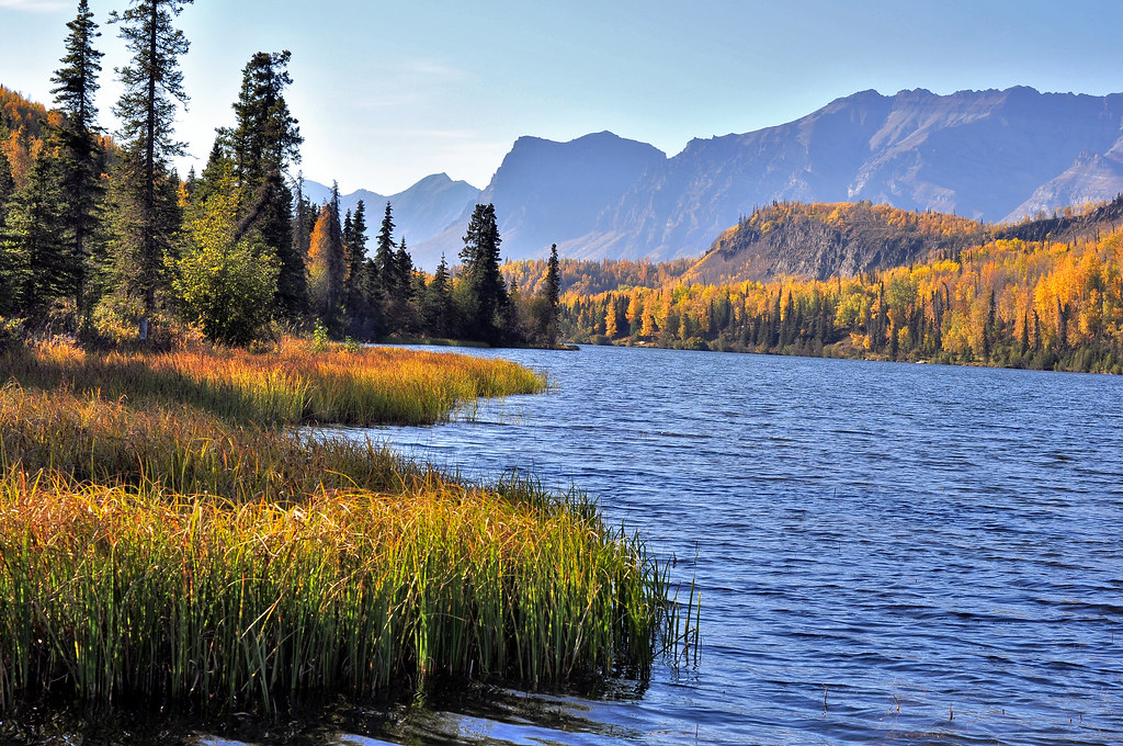 Hd And 3d Wallpaper For Pc Bonnie Lake Chickaloon Alaska Beautiful Autumn Colors