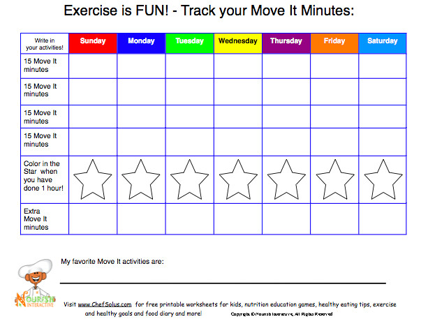 tracking diet and exercise