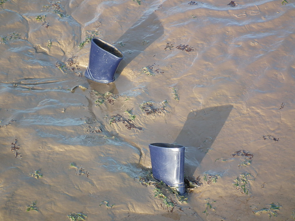 Wellington Boots Stuck In Mud Gileston Paul Sims