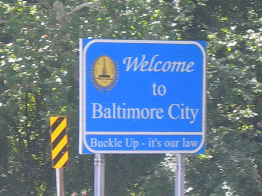 Bild Als Poster Welcome To Baltimore City | I 83 | Jimmy Emerson, Dvm | Flickr
