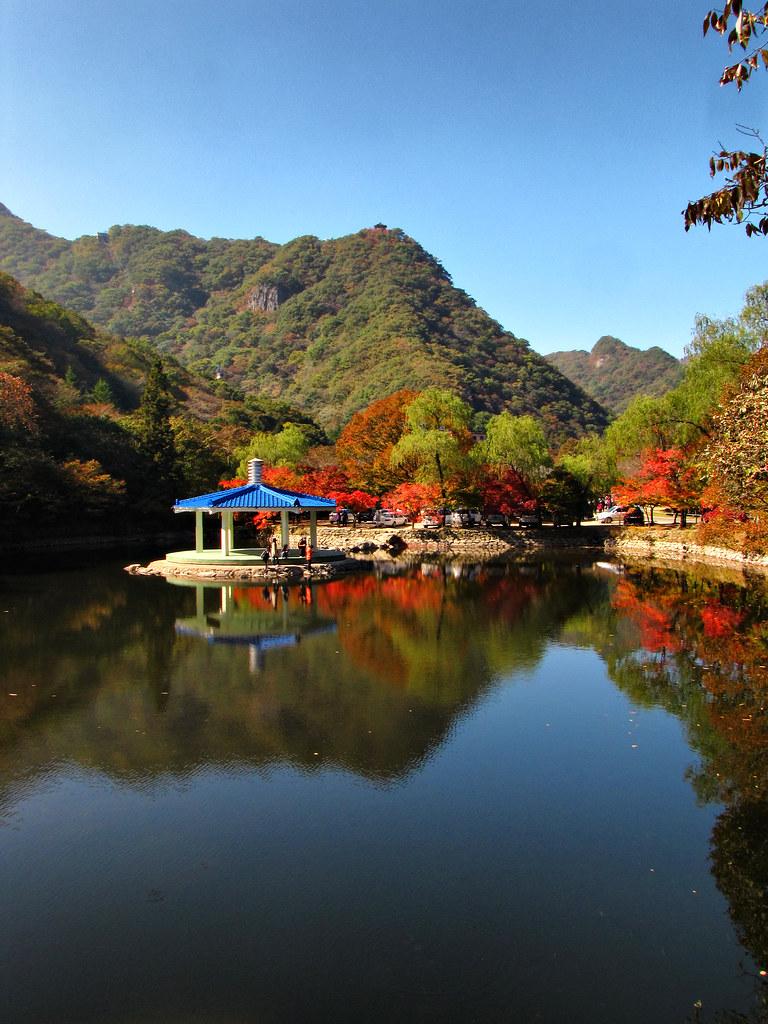 3d Hd Scenery Wallpapers Naejangsan Provincial Park South Korea Fall Scenery At