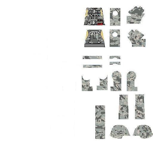 Custom lego Tactcal ACU Uniform Decal A tactical vest deca\u2026 Flickr