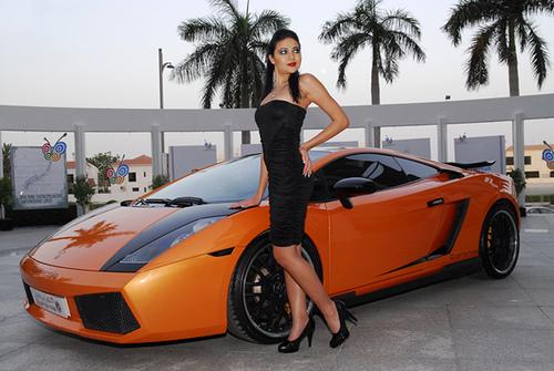 Bmw M5 Girl Wallpaper Lamborghini Girl Orange Lamborghini Gallardo And