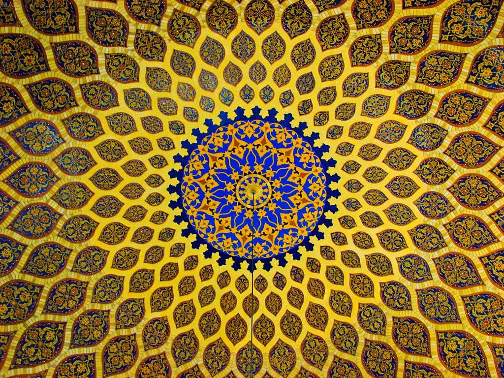 3d Geometric Shapes Wallpaper White Islamic Design Picture Of A Dome At The Ibn Battuta Mall