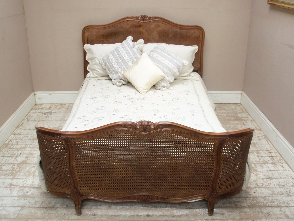 Double Vintage Cane Bed French Antique Furniture Flickr