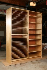 Cabinet, full front left | LCS elementary art storage ...