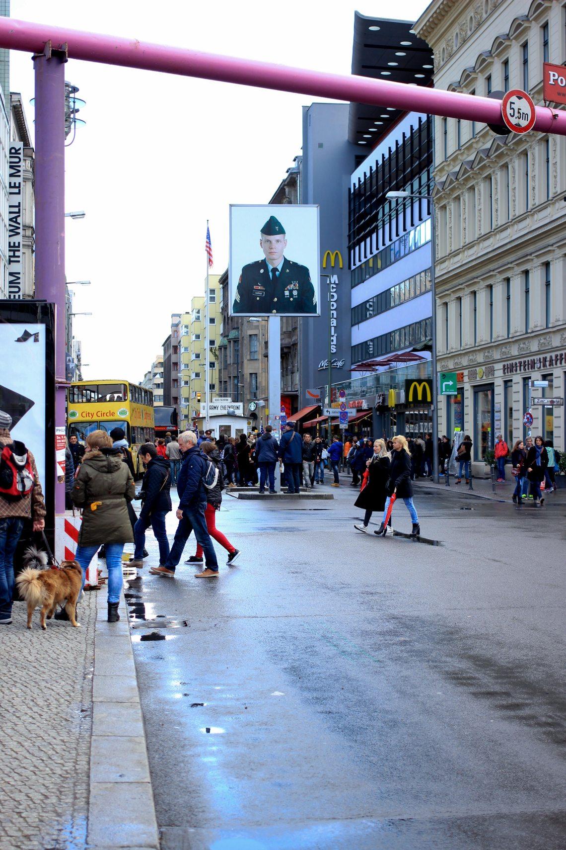 Berlin côté Americain