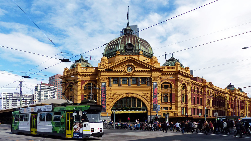 Clocks Flinders Street Station Melbourne.aust. | Flinders Street