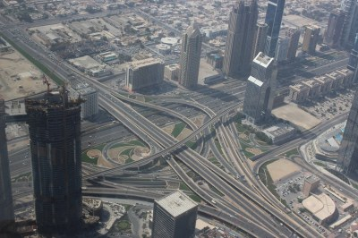 View from the Burj Khalifa | Tallest building in the world ...
