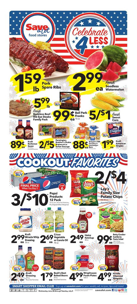 Save A Lot Weekly Ad June 28 - July 4, 2017 Save A Lot Wee\u2026 Flickr - save a lot flyer