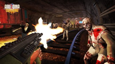 PS VR zombie shooter Arizona Sunshine is out tomorrow, with 10% off for PS Plus members ...