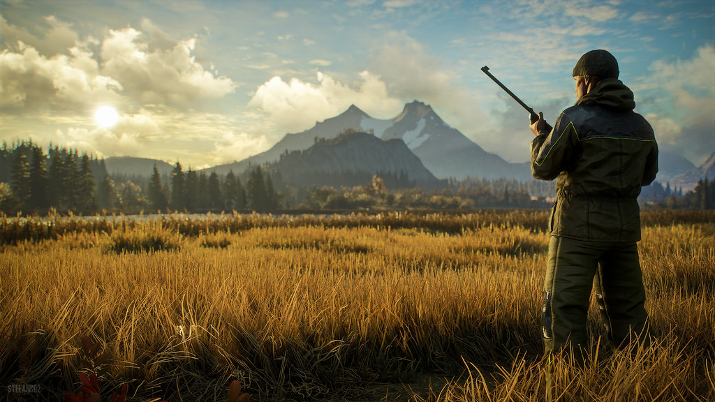 3d Wallpaper Of Deer Thehunter Call Of The Wild The Cover Screenshot Of