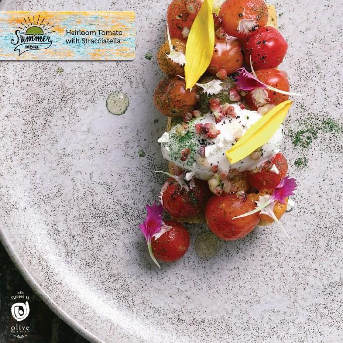 olivequtub olivebarandkitchen summeronaplate summer on a plate summer menu olive qutub