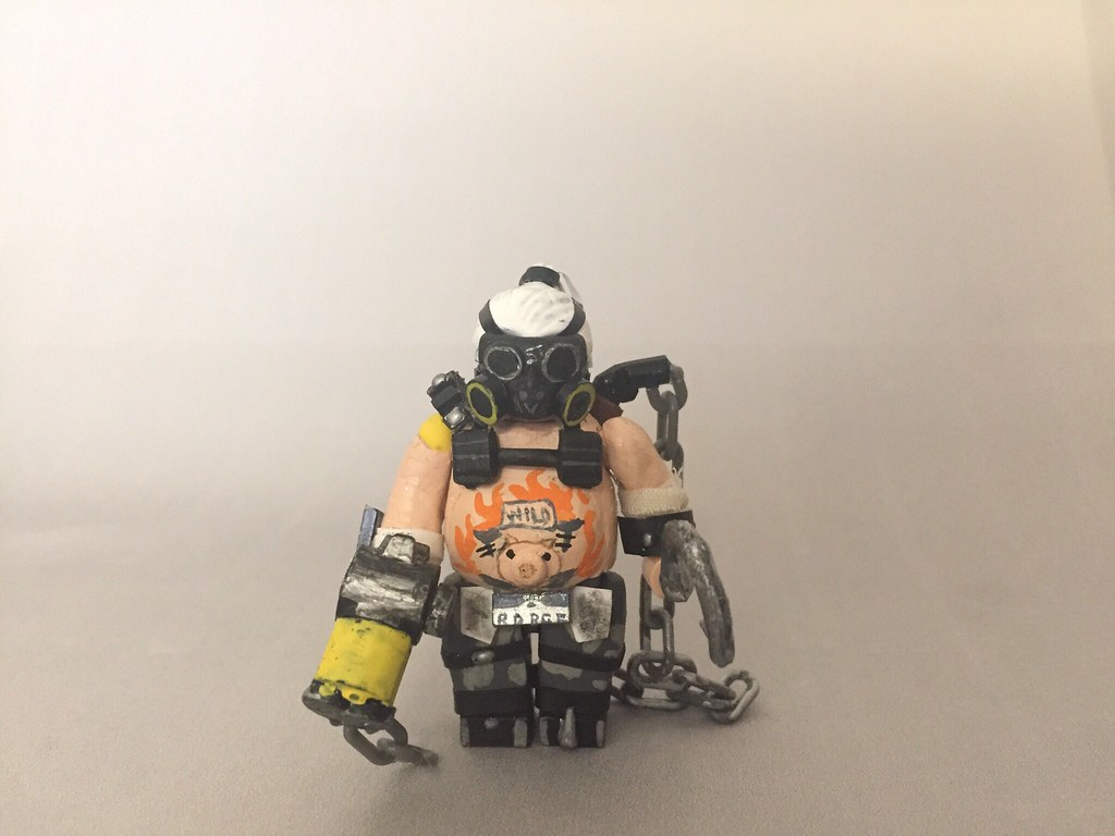 3d Camo Wallpaper Lego Overwatch Roadhog Please Comment If You Fave