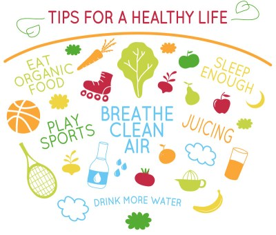 Tips for healthy life | A healthy lifestyle begins with a ...