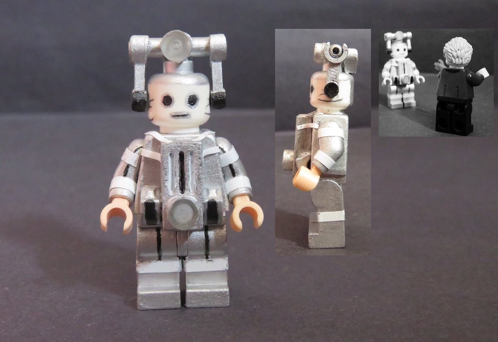 Pro Tape Custom Lego Doctor Who: Mondasian Cyberman | Credit To