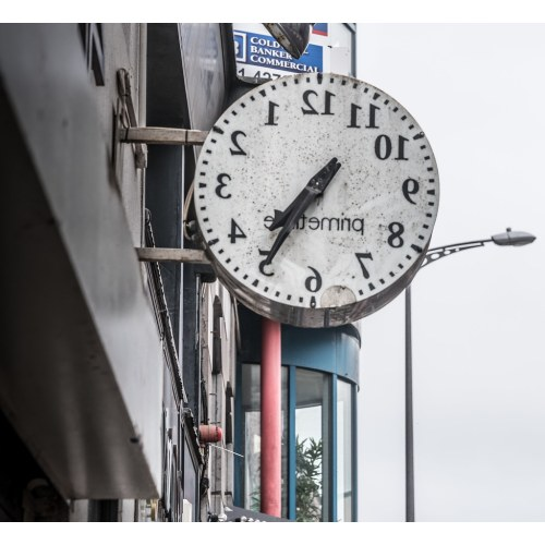 Medium Crop Of Strange Wall Clock