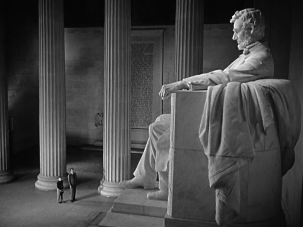 Black And Gray Wallpaper Michael Rennie Billy Gray Lincoln Memorial Quot The Day The