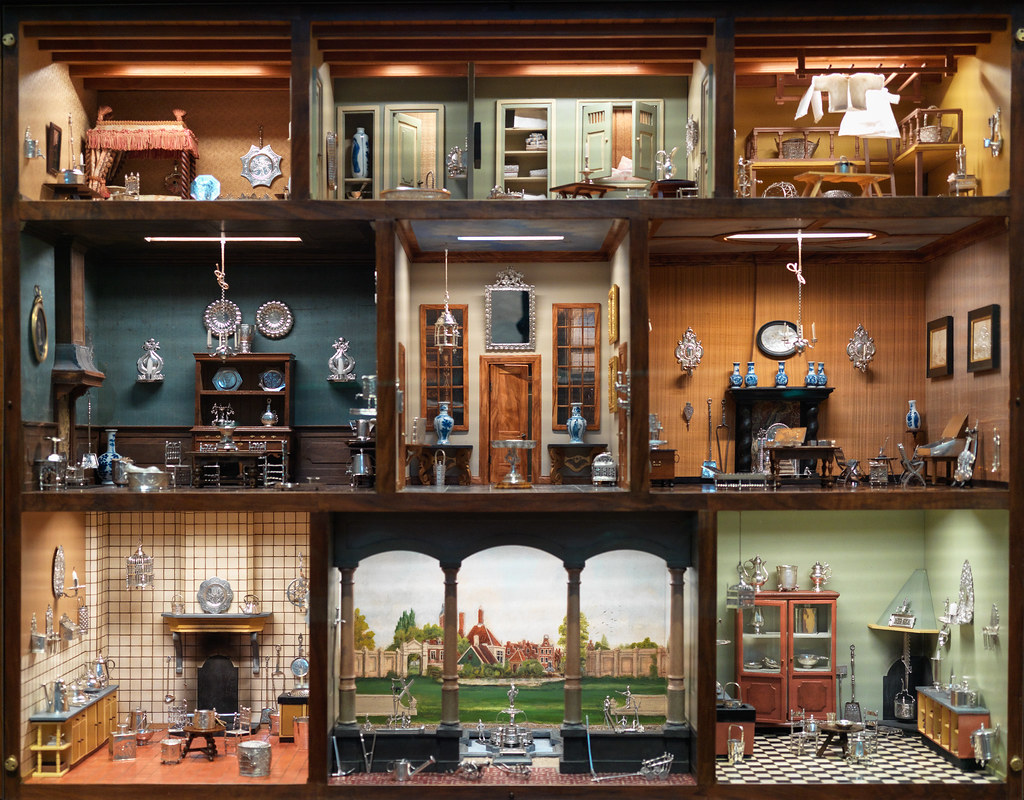 The Dolls House Inside The Doll 39s House 1700 39s Dutch Doll House At The