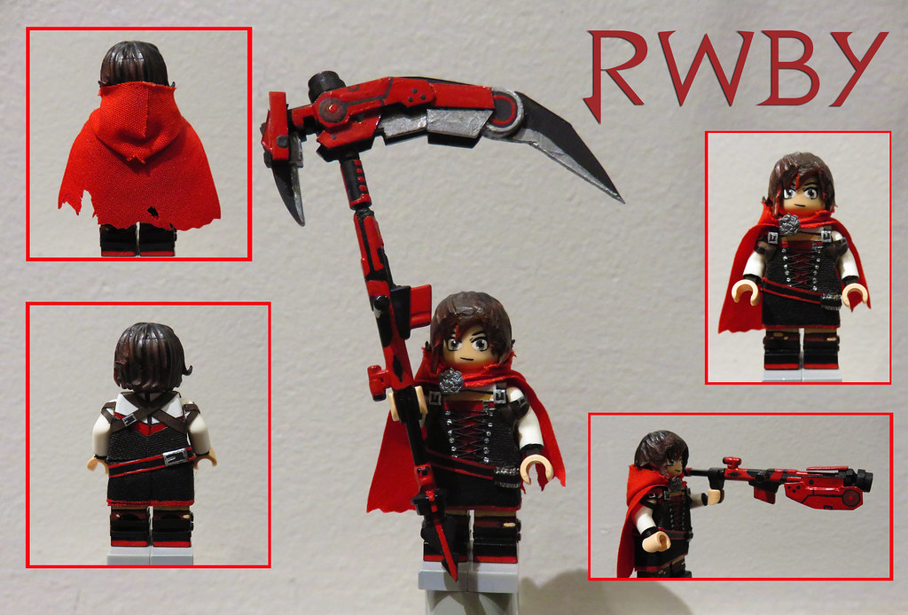 3d Curved Wallpaper Rwby Ruby Rose Never Planned On Making More Figures