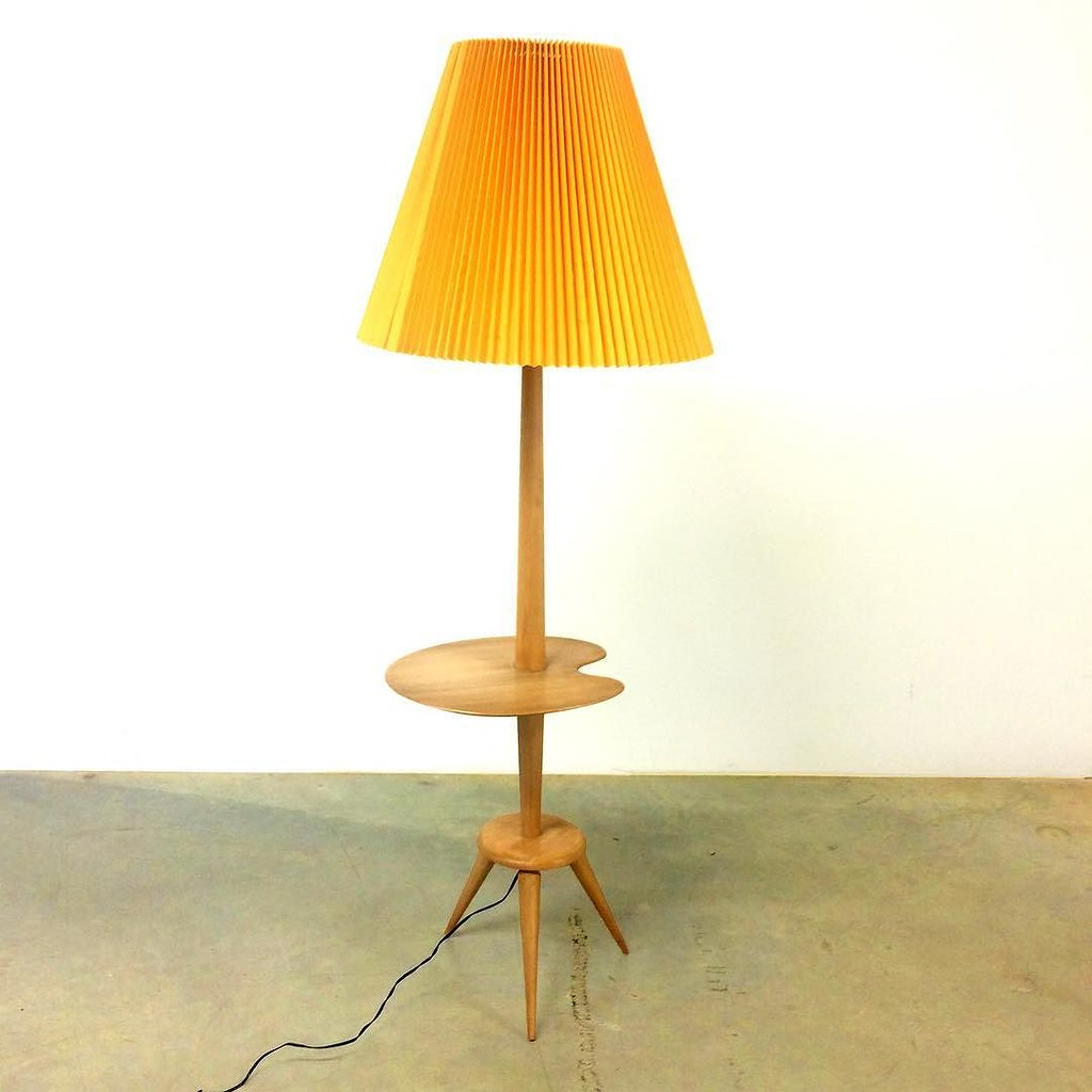 Vintage Küchenmöbel Sold To Cologne A French Floor Lamp From The 1950 S 19w Flickr