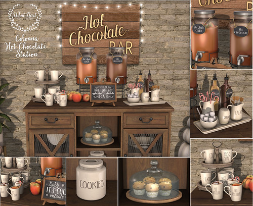 Sideboard 180 What_next_colonna_hot_chocolate_station | New At The What