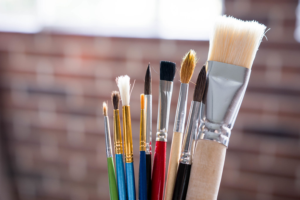 Free Hd 3d Wallpapers For Desktop Different Sizes Of Paint Brushes 📷 Stock Photos Fotos