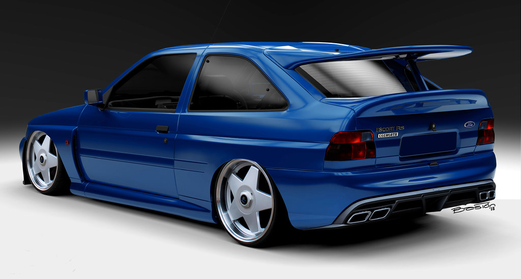 Ford Focus Ford Escort Rs Cosworth | Luis Baston | Flickr