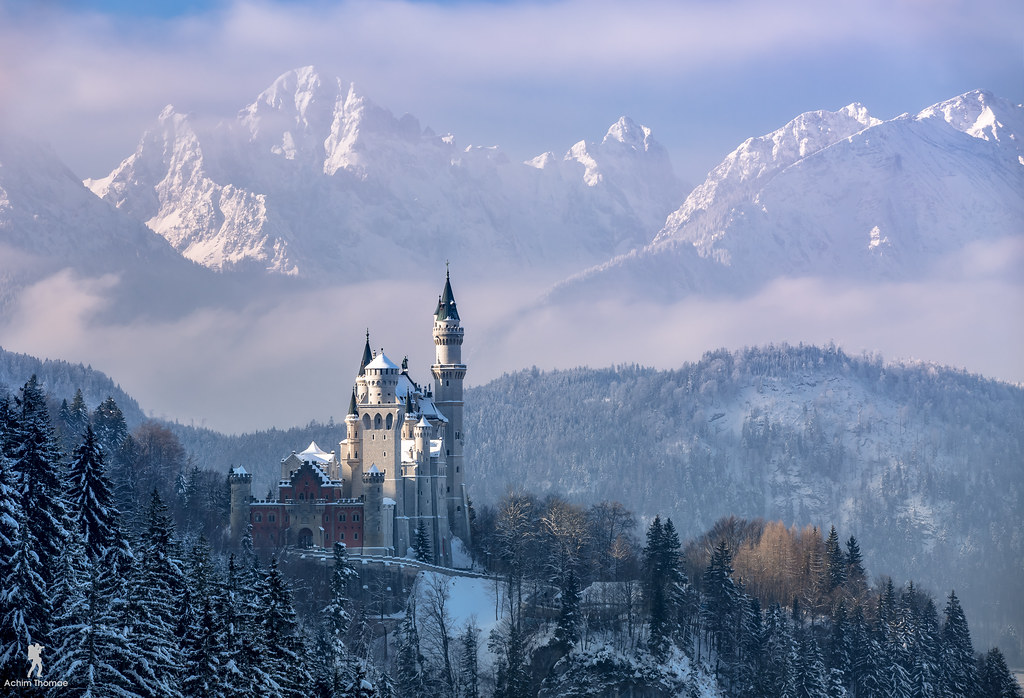 3d Winter Wallpaper Free Winter Magic Bavaria Reedit Neuschwanstein Castle