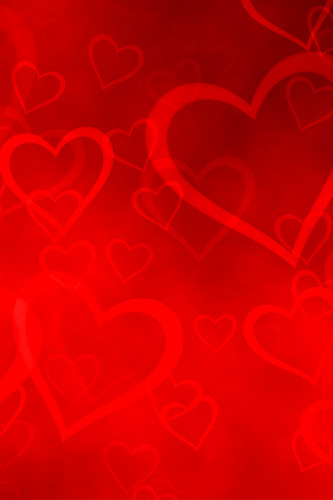Free Download Wallpaper 3d Windows 7 Iphone Background Hearts Happy Valentine S Day