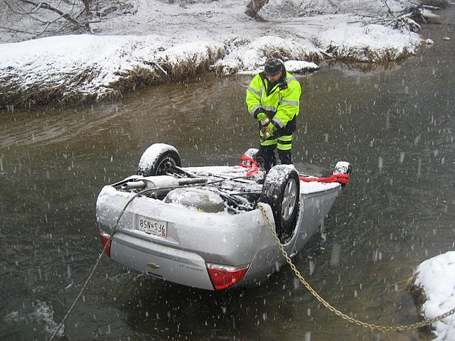 Automobile in Germantown, MD Creek - Recovered by Morton\u0027s\u2026 Flickr - morton's towing