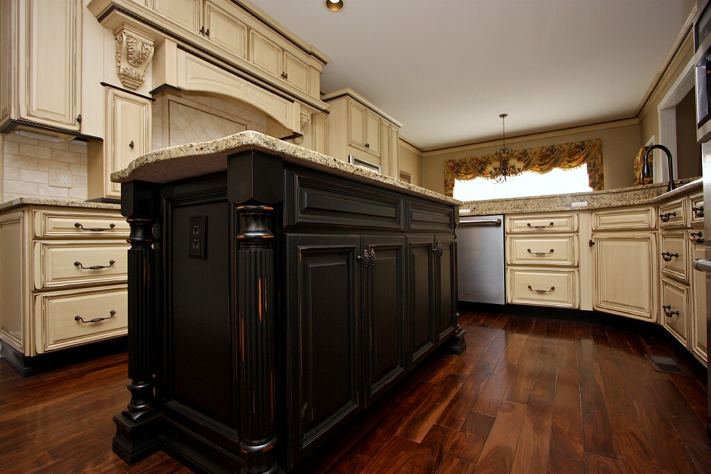 Captivating Antiquing Kitchen Cabinets About Remodel Best