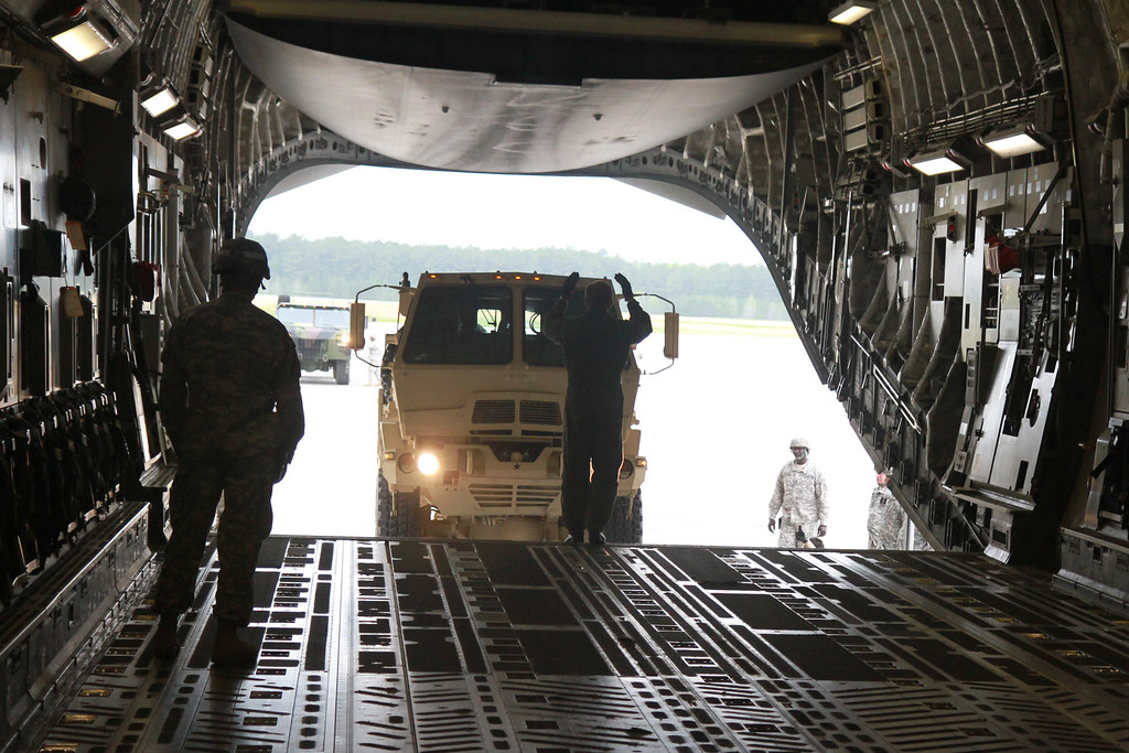 Soldiers training in Virginia Guard\u0027s motor transport oper\u2026 Flickr