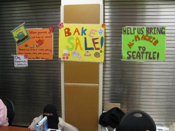Bake sale signs Qabeelat Ruhma Flickr