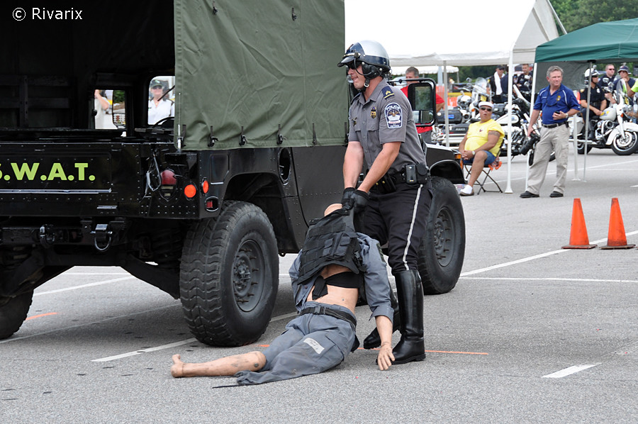 201 Palmetto Rodeo - US Pentagon Police Dragging the manne\u2026 Flickr