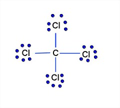 lewis diagram ccl4