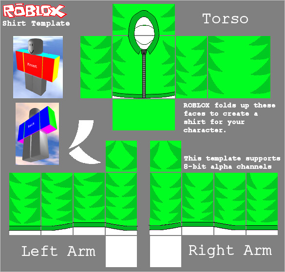 Green Sweatshirt Template For ROBLOX (Lax14) Lax14iscool Flickr