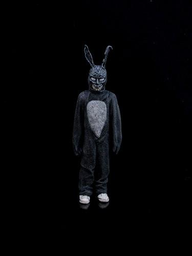 3d Metallic Wallpaper Donnie Darko Frank The Bunny From Neca S Cult Classics
