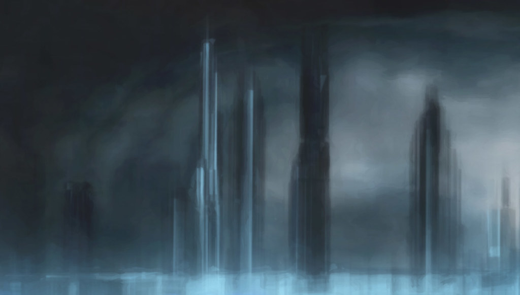 Basic background matte for animators, Creative Commons Flickr - basic blue background