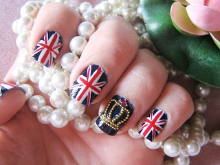 Royal Wedding Inspired Nail Art Products Used