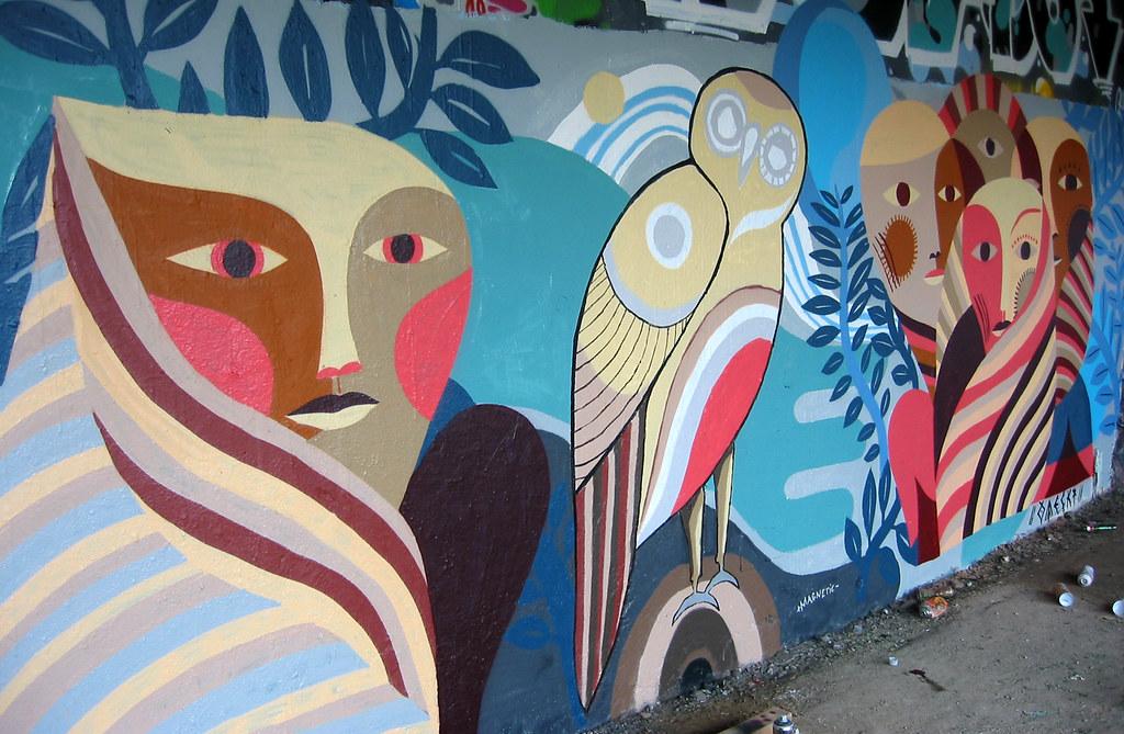 Street Art - Mural painting - Urban art - Wall by Otecki a\u2026 Flickr